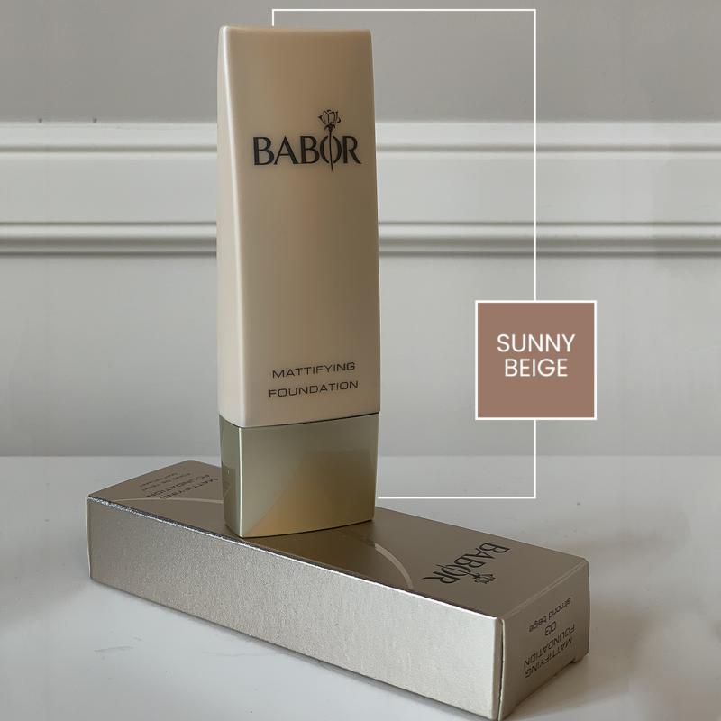 Babor Mattifying Foundation - Sunny Beige